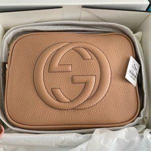NWT 💝G u c c i 💝Soho Small Leather Disco Bag